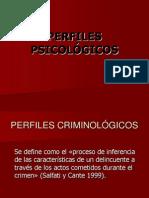TEMA 5.3 Perfil Criminal
