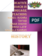 Presentation foreign language learning and teaching