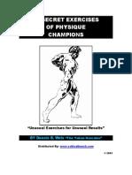 BodyBuilding - Secret Exercises