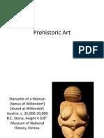 Prehistoric Art to Gothic Art