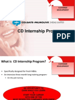 Colgate Internship Program