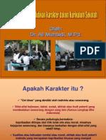 Implementasi Pendidikan Karakter Dalam Kurikulum Di Sekolah
