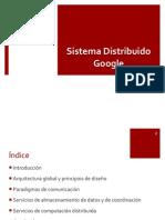 Sistema distribuido Google