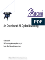 An Overview of All-optical Switching