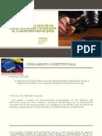 Responsabilidad Civil de Los Jueces, Alguaciles y