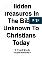Hidden Treasures in the Bible Unknown to Christians Today (1)
