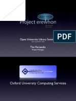 Open University Library Seminar