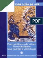 Sf Ioan Gura de Aur _Despre Desfatarea Celor Viitoare-Sa Nu Deznadajduim-Noua Cuvantari La Cartea Facerii