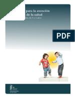 Guía del cuidado y atención de la salud Niños de 0 a 2 anos 6 mese