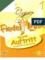 Fiedel Max Der große Auftritt 1