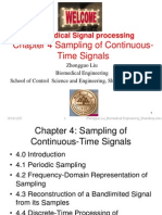 Chapter4 Sampling of Continuous-Time Signals