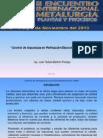 Refinacion Electrolitica de Cobre