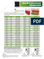 Viper Seal and Scraper Selection Guide 2013 - Rev 2