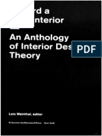 Anthology of Interior Design Theory