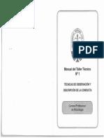 Manual de Observación y Registro