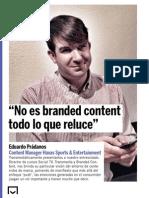 Entrevista a Eduardo Prádanos en Interaciva Digital