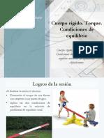 Diapositivas de Torque y 2CdE