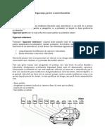 Siguranţa pasivă a autovehiculelor