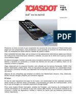 Billetera digital en el móvil