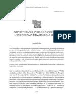 J. Silić - Nepostojano (poluglasničko) a u imenicama hrvatskoga jezika