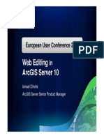 Web Editing Arcgis Server