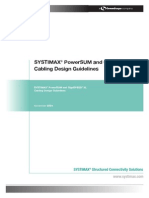 PowerSYSTIMAX® PowerSUM and GigaSPEED® XL