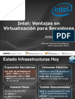 The Evolution RoadShow Intel Virtualizacion
