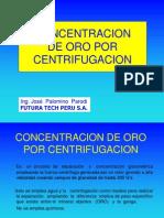 12.Avances en Concentración de Oro por Centrifugación