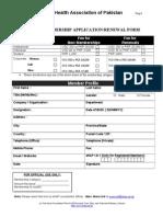 Membership Form 2013