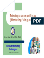 Tema 09 Estrategias Competitivas Marketing de Guerra