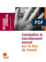 Harcelement Sexuel en France