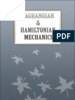 Lagrangian Hamiltonian Mechanics