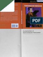 Fundamentals of Semiconductor Fabrication Book