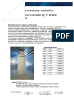 Emissions Incinerator Plants - Application Note (2006)...Ftir