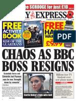 Daily Express (Sunday Express) - Sunday, November 11th 2012