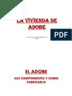 Capitulo II - La Vivienda de Adobe