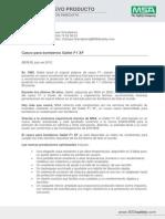 Gallet F1 XF Press-Release ES