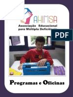 AHIMSA - Programas e Oficinas