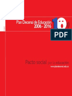 1. PLAN DECENAL 2006-2016