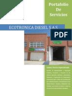 Portafolio de Ecotronica Diesel 2013