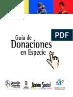 Guia Donaciones Especie