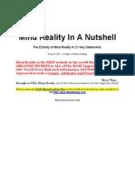 Enoch Tan - Mind Reality in a Nutshell - 21 Key Statements