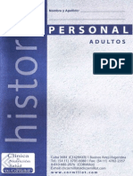 Clinica Cormillot - Historia Personal Adultos