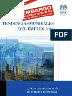 Tendencias Mundiales del Empleo 2014