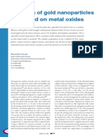 Catalysis of Gold Nanoparticles Deposited on Metal Oxides (1)