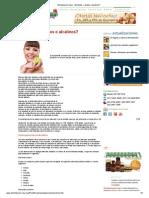 Alimentacion Sana - Alimentos_ ¿ácidos o alcalinos_