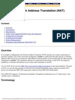 Cisco Ios Network Address Translation (Nat)