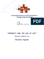 Humanity and the Era of Art_Rosana Agudo