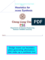 2 Heuristics for Process Synthesis