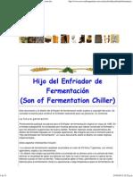 Cerveza de Argentina - Hijo del Enfriador de Fermentación